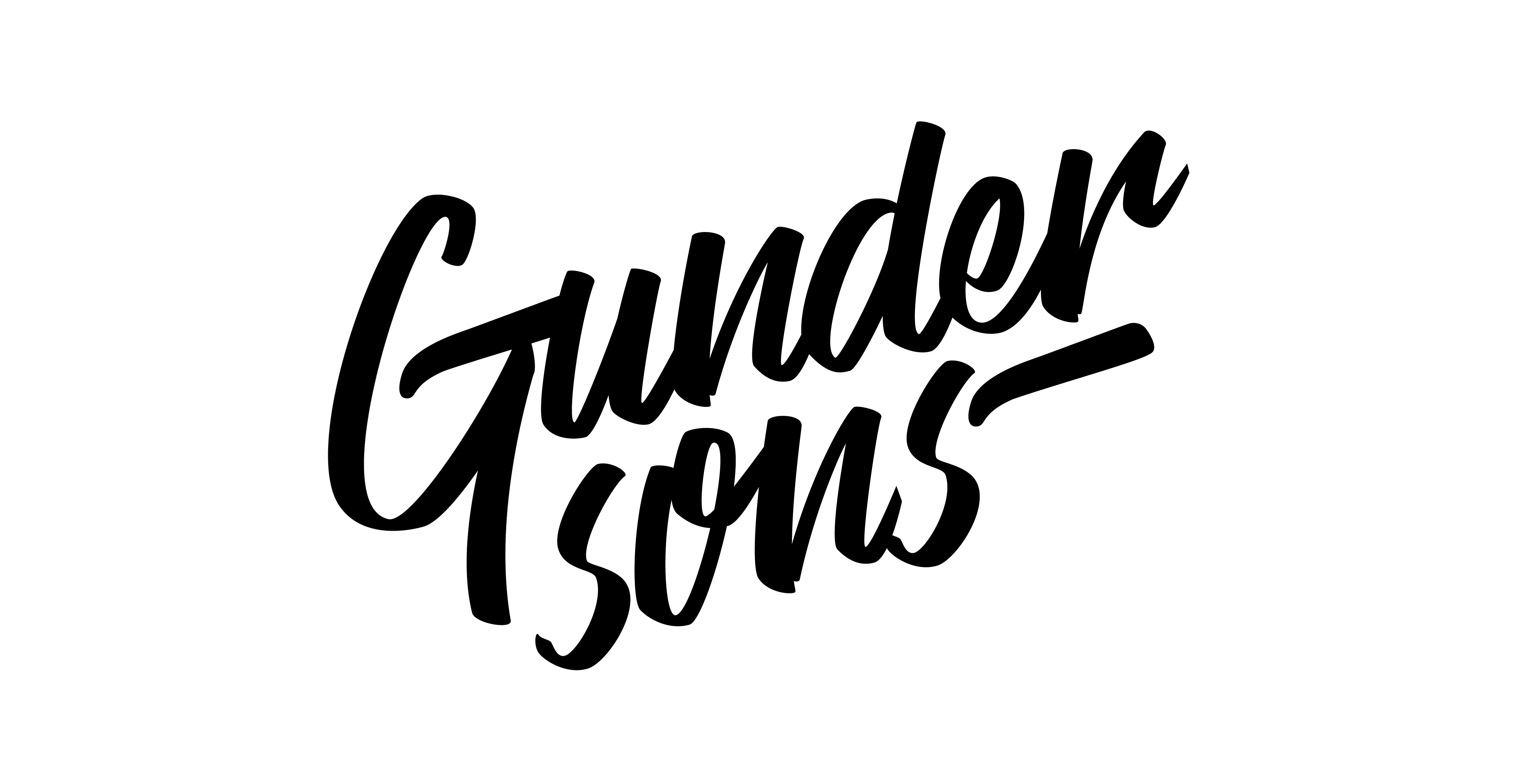 GUNDERSONS™ - Illustration, graphic design & branding